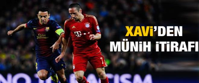 Xavi'den Bayern Münih itirafı