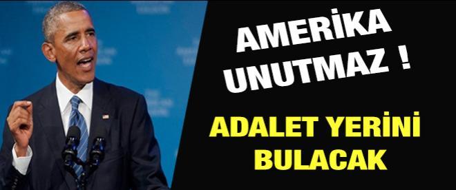 Obama: Amerika unutmaz