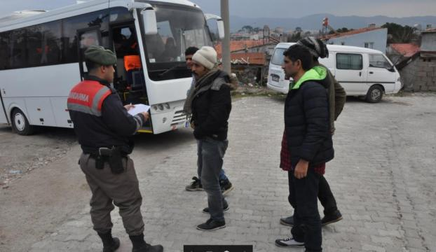 Çanakkalede 49 yabancı uyruklu yakalandı