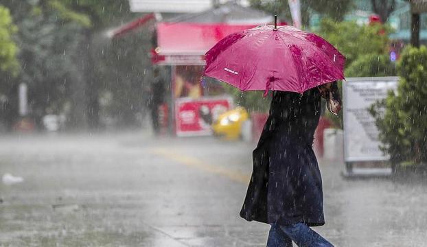 Dikkat! İstanbula 20 saatlik yağış geliyor