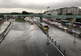 İstanbul'da son yüzyılın en şiddetli yağmurları