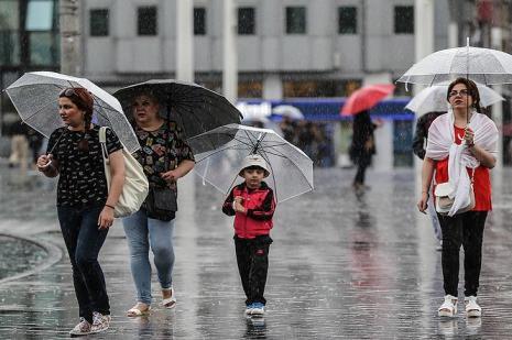 Marmara'ya yağmur uyarısı