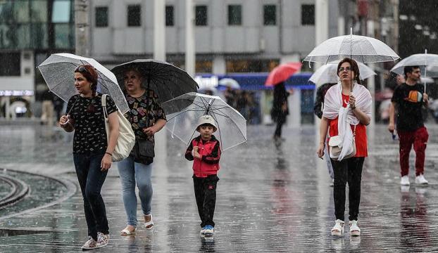 Marmarada yağmur devam ediyor