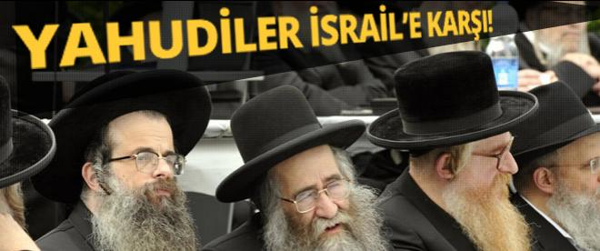 Yahudiler'den İsrail'e protesto