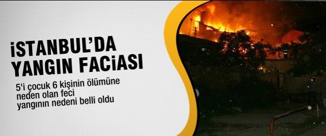 İstanbul'da yangın faciası