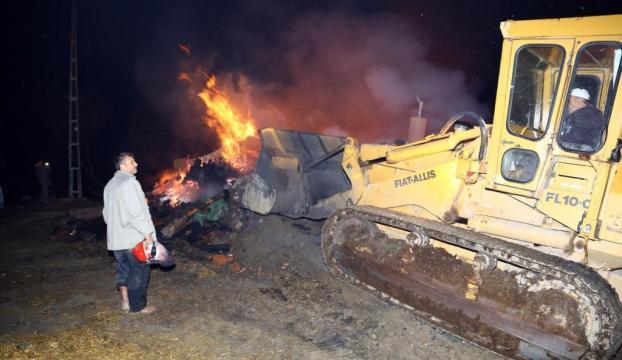 30 ev yandı