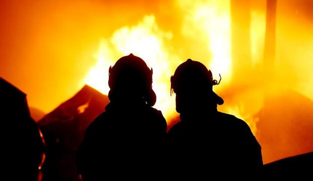 Burdurda öğrenci pansiyonunda yangın paniği