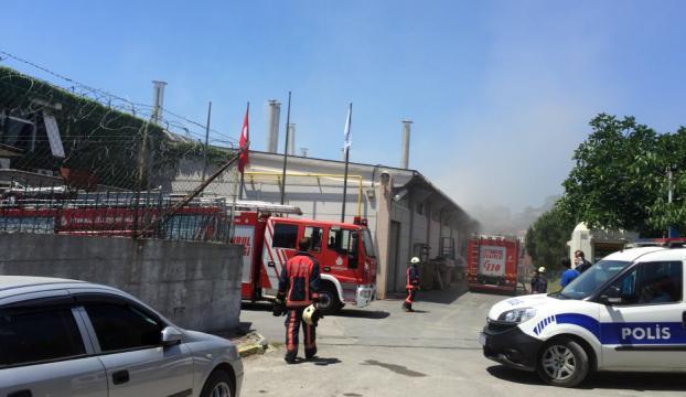 İstanbul Kartalda yangın!