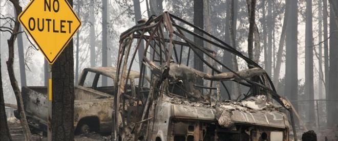 California yangınında en az 50 ölü