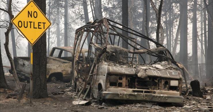 California tarihindeki en büyük orman yangını