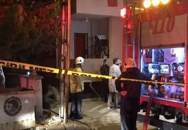 Kartal'da iş yeri yangını