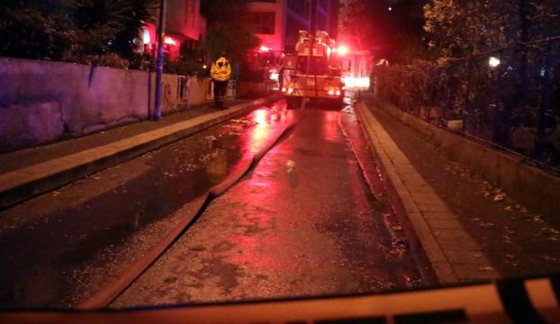 Kadıköyde yangın: 2 ölü
