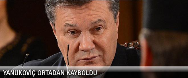 Yanukoviç kayıplara karıştı