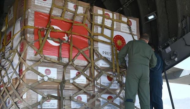 Türkiyenin gönderdiği tıbbi yardım 5 Balkan ülkesine teslim edildi