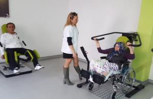 Yaşlılara özel egzersiz sistemi Türkiye'de