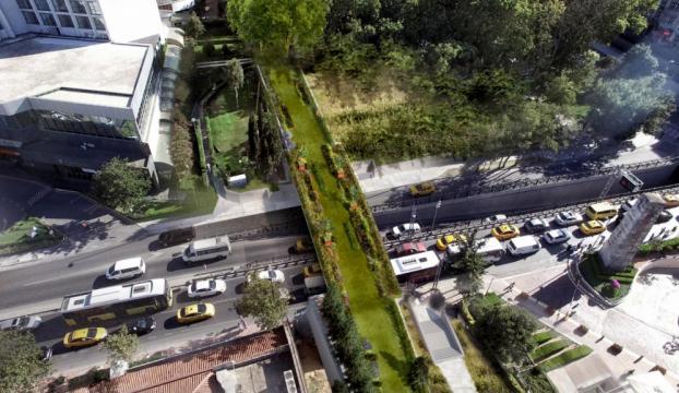 İstanbula ekolojik yaya köprüsü!
