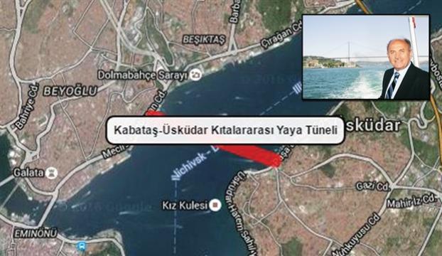 Kabataş-Üsküdar Yaya Tüneli Projesinde çalışmalar başlıyor