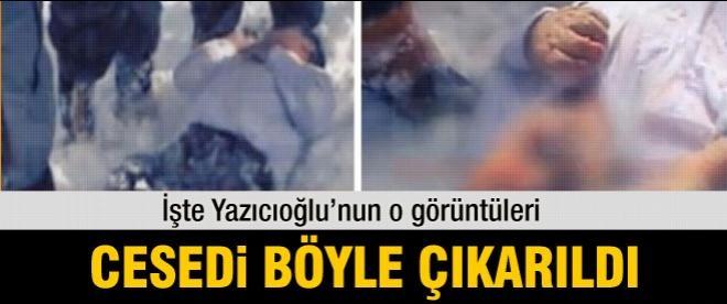 Muhsin Yazıcıoğlu'nun naaşının ilk görüntüleri
