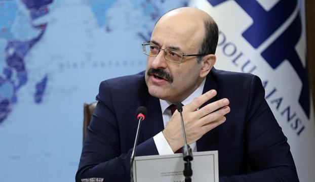 Saraç ve YÖK üyeleri, Milli Dayanışma Kampanyasına birer maaşlarını bağışladı