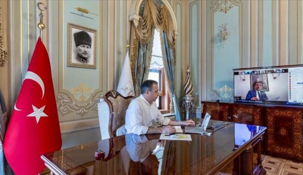 """İstanbul Valisi Yerlikayanın başkanlığında """"İl Pandemi Kurulu"""" toplandı"""