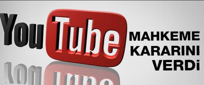 Youtube davasında sıcak gelişme