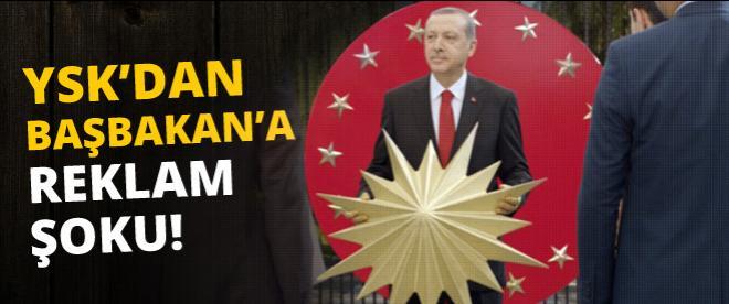 YSK, Erdoğan'ın reklam filmini yasakladı
