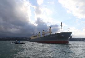 Marmara Denizi'nde gemi kazası