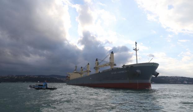 Marmara Denizinde gemi kazası