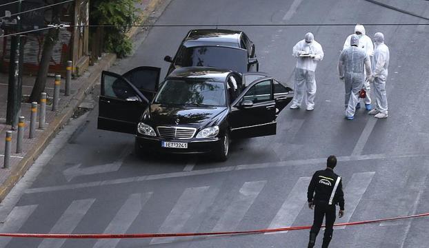 Yunanistanda eski başbakanına bombalı saldırı