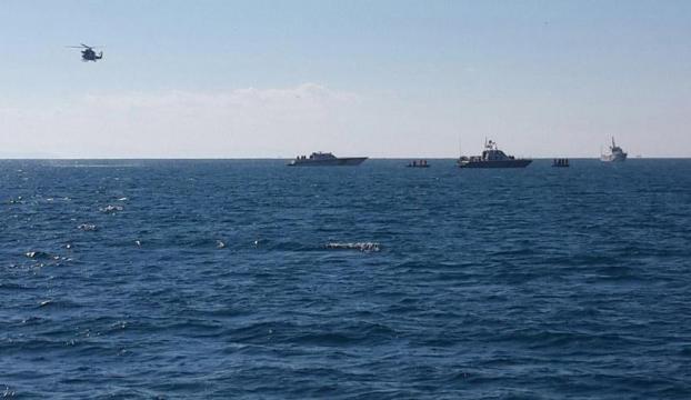 Yunanistanda savaş uçağı düştü