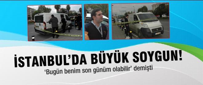 İstanbul'da 4 milyon dolarlık soygun