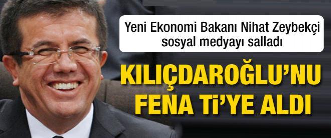 Yeni bakan Kılıçdaroğlu'nu fena ti'ye aldı