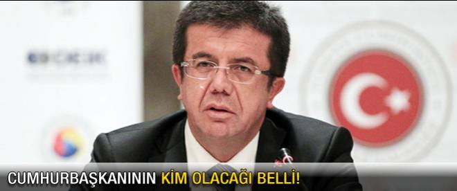 """Zeybekçi: """"Cumhurbaşkanının kim olacağı belli"""""""