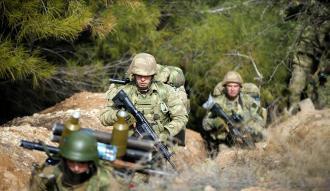 Afrin'in kuzeybatısındaki köy teröristlerden temizlendi
