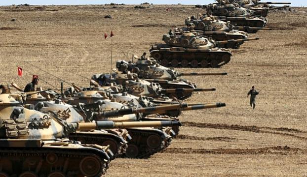 Zeytin Dalı Harekatında etkisiz hale getirilen terörist sayısı 1,485 oldu