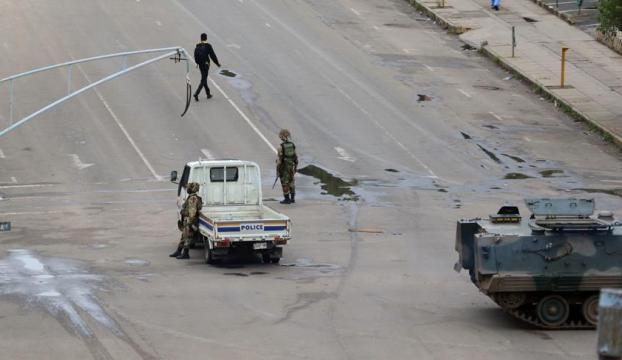Zimbabvedeki askeri müdahale