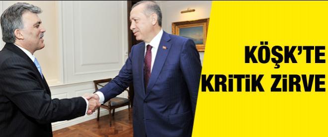 Gül ile Erdoğan'dan kritik zirve