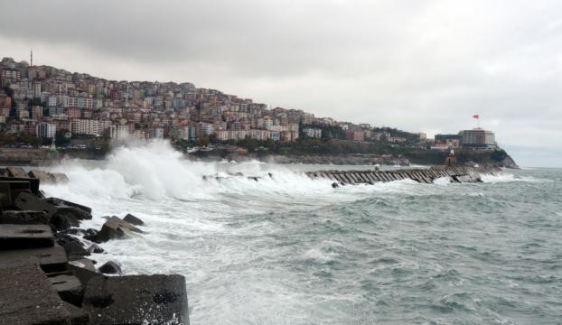 Batı Karadenizde fırtına uyarısı