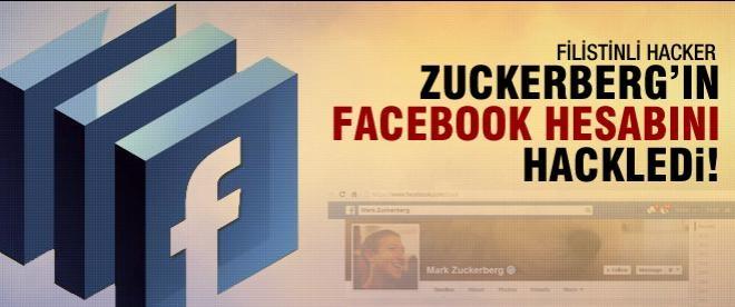 Filistinli Hacker Zuckerberg'i hack'ledi